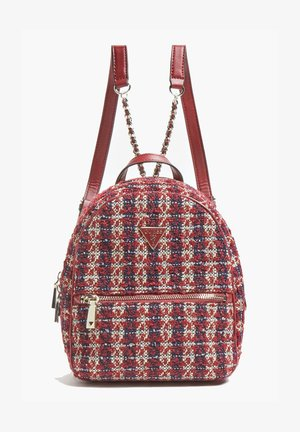 SAC A DOS CESSILY TWEED - Backpack - rouge