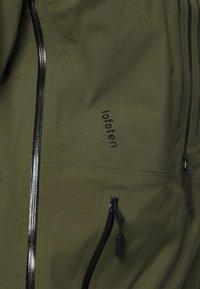 Norrøna - LOFOTEN GORE-TEX PRO ANORAK - Ski jacket - khaki - 5