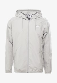 adidas Originals - OUTLINE WINDBREAKER JACKET - Kevyt takki - solid grey - 3