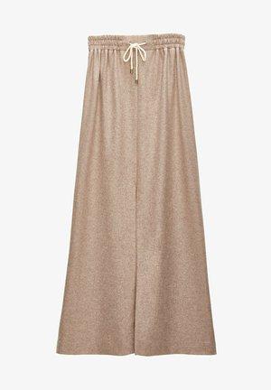 Áčková sukně - beige