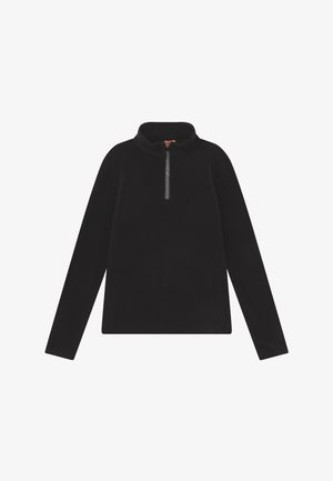 MISMY GIRLS - Fleece jumper - black
