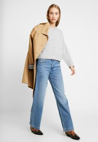 New Look - BOXY STRAIGHT SLEEVE - Trui - light grey - 1