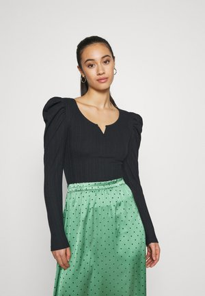 JDYANNA PUFF SLEEVE - Topper langermet - night sky