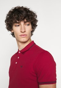Emporio Armani - Polo shirt - dark red - 3