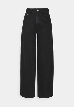RAIL  - Jeansy Relaxed Fit - almost black