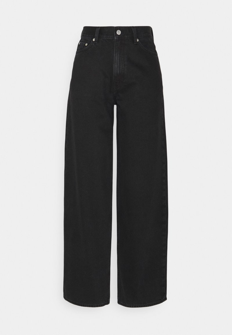 Weekday - RAIL  - Relaxed fit jeans - almost black