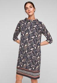 s.Oliver BLACK LABEL - Day dress - black floral aop - 0