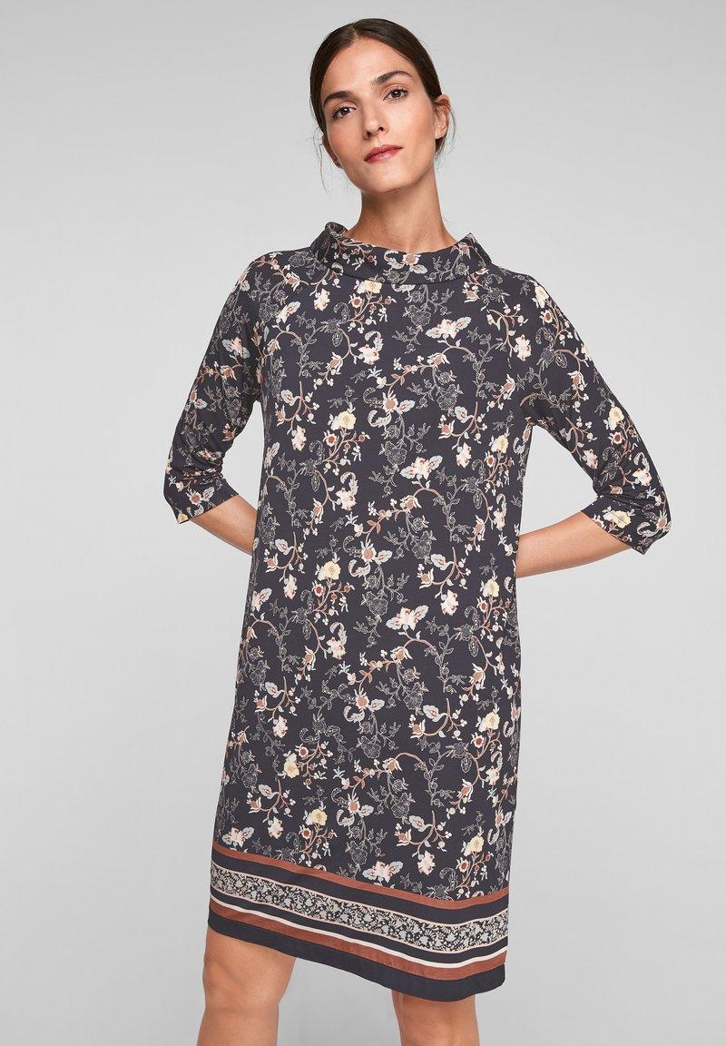 s.Oliver BLACK LABEL - Day dress - black floral aop