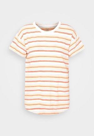 WHISPER CREWNECK TEE - T-shirts med print - pearl ivory