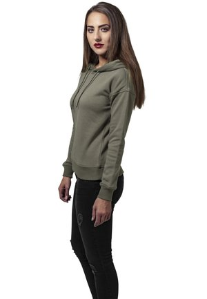 LADIES HOODY - Sweat à capuche - olive