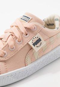 Puma - BASKET - Trainers - pink sand/tapioca - 2