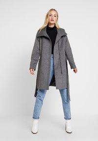 Esprit Collection - COAT - Classic coat - gunmetal - 1
