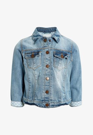 DENIM JACKET - Džínová bunda - blue