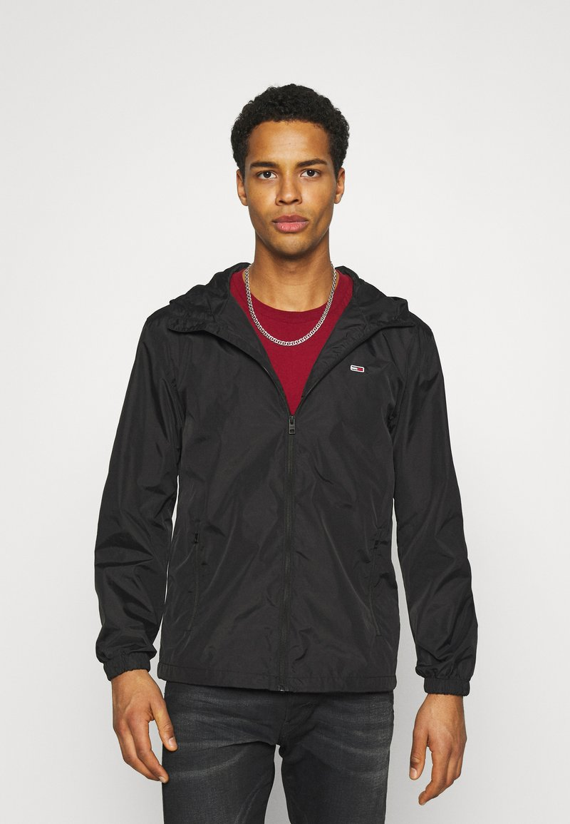 Tommy Jeans - PACKABLE  - Outdoorjacka - black