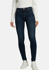 Esprit - Jeans Skinny Fit - blue dark washed - 4