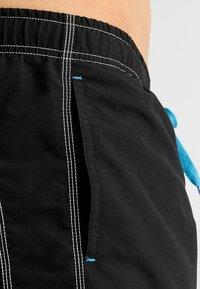 Arena - FUNDAMENTALS SOLID - Swimming shorts - black/white - 3