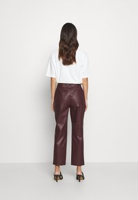 EDITED - MARESA TROUSERS - Trousers - rot - 2