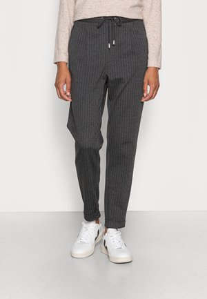 PINSTRIPE - Tracksuit bottoms - anthracite