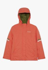 Ziener - ATHILDA JUNIOR - Ski jacket - coral - 2