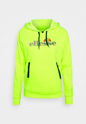 ARCILLE - Sweat à capuche - neon yellow