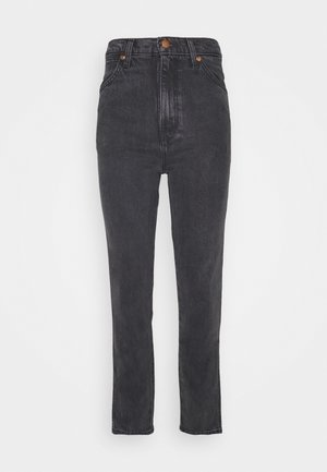 WILD WEST - Straight leg jeans - rinsed black