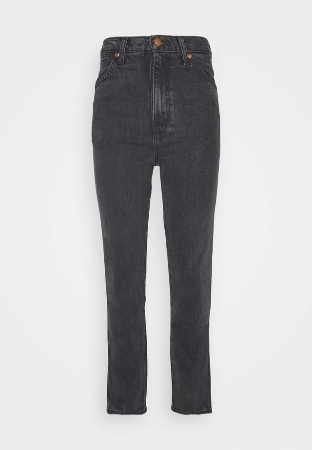 WILD WEST - Jeans a sigaretta - rinsed black