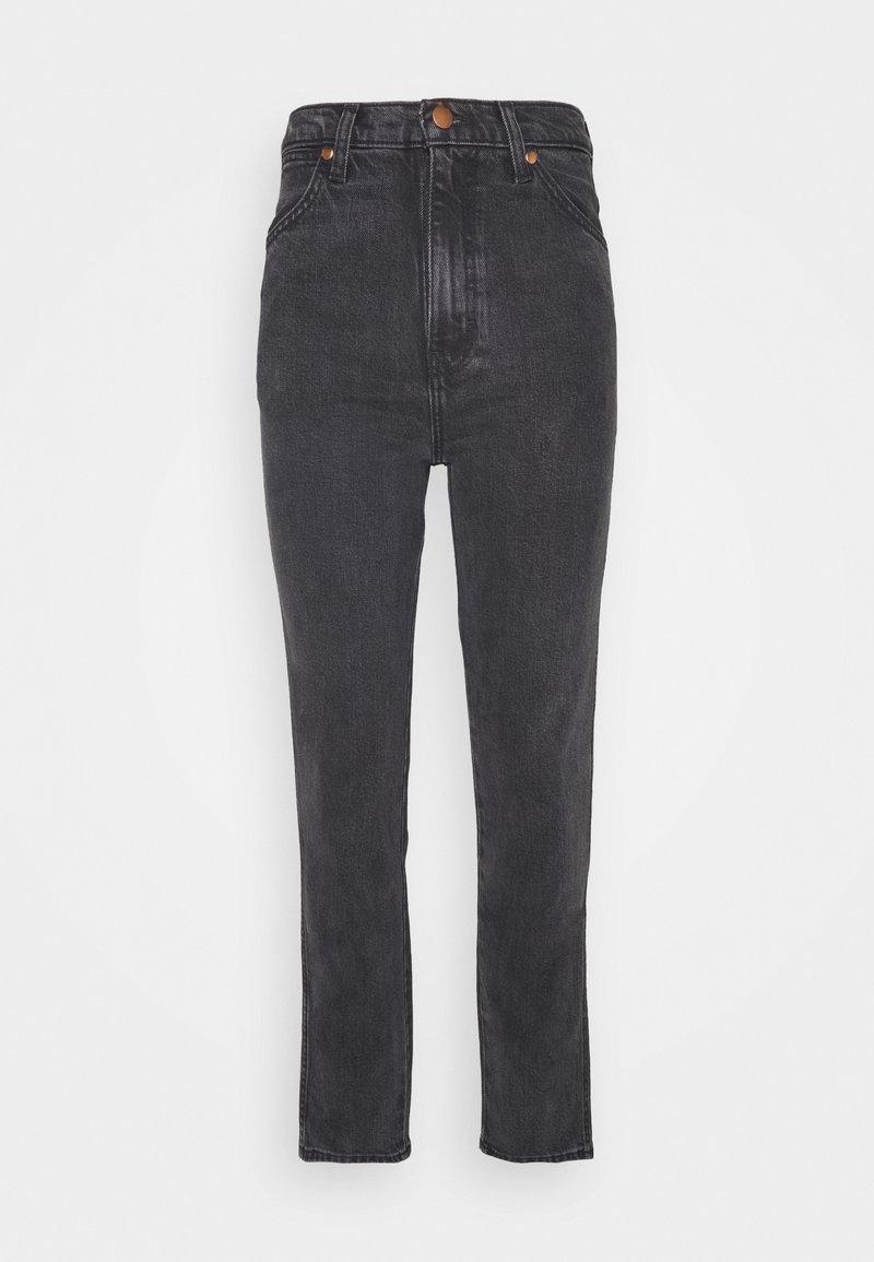 Wrangler - WILD WEST - Straight leg jeans - rinsed black