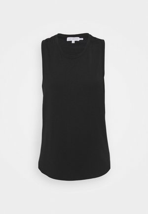 SLINKY HIGH LOW TANK - Top - black