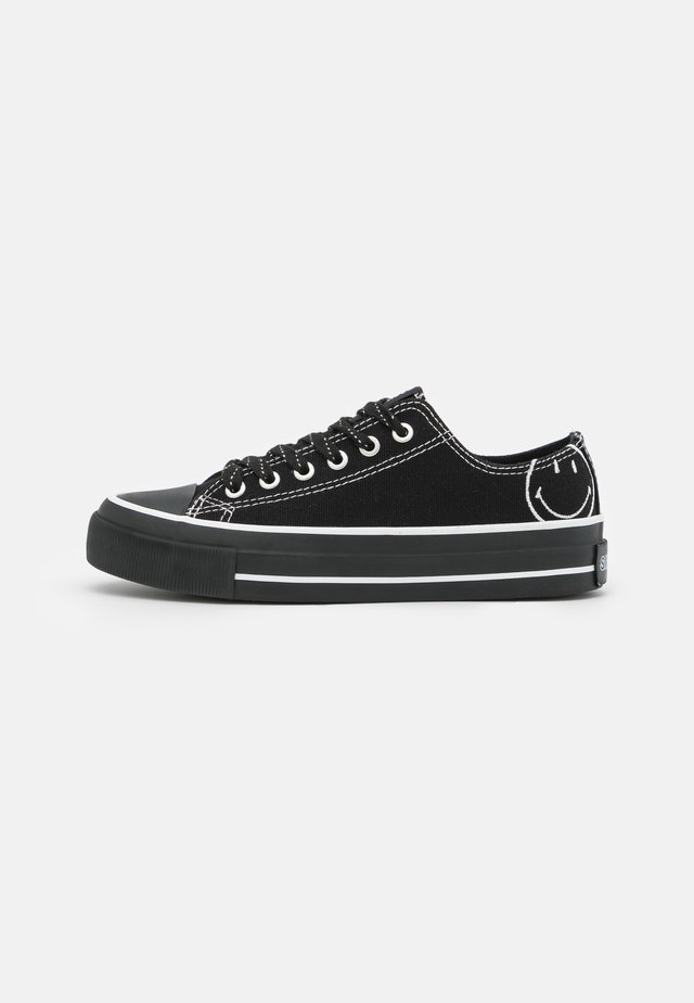 VEGAN BILLIE RETRO RISE - Sneakers laag - black