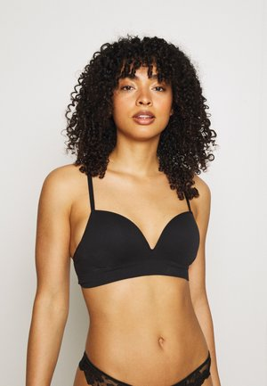 BRA SEAMLESS  - Push-up bra - black