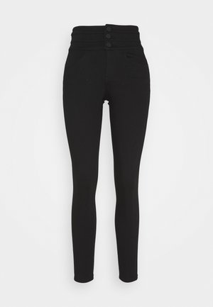 ATTACK - Slim fit jeans - black