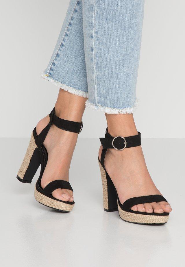 SANTORINI - High Heel Sandalette - black