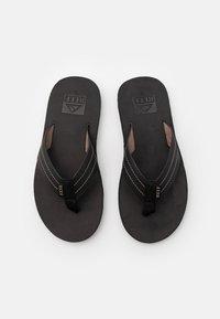 Reef - VOYAGE - T-bar sandals - noche - 3