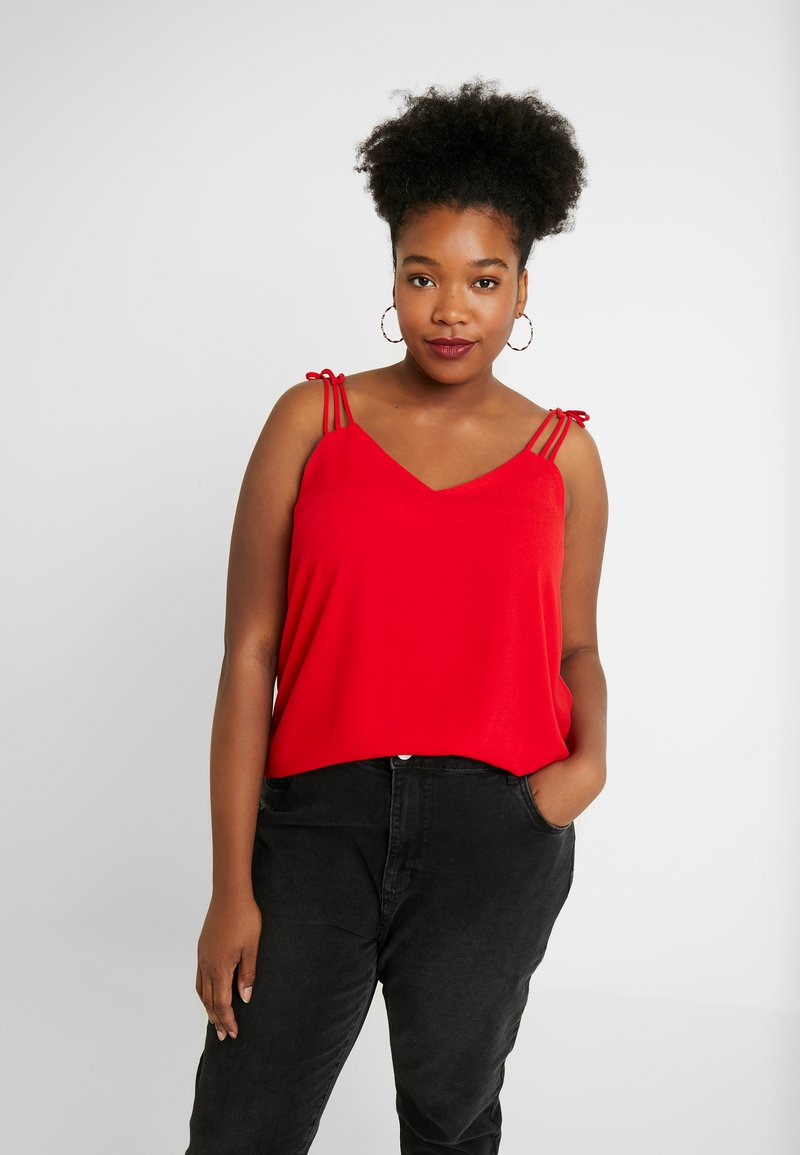 CAPSULE by Simply Be - 3 STRAP - Top - red