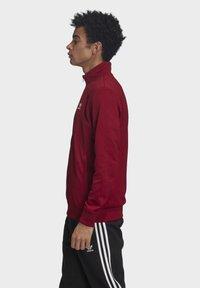 adidas Originals - TREFOIL ESSENTIALS TRACK TOP - Trainingsjacke - burgundy - 3