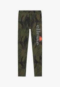 Ellesse - BRULAN PERFORMANCE LEGGING - Punčochy - dark green - 2