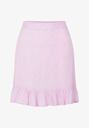 A-line skirt - orchid bloom