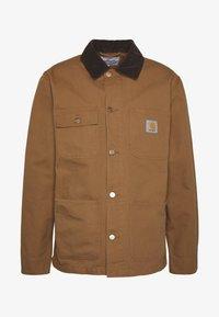 MICHIGAN COAT DEARBORN - Summer jacket - hamilton brown rinsed