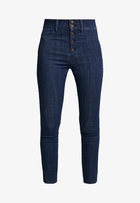 Hollister Co. - RINSE SHANK - Skinny džíny - dark-blue denim - 3