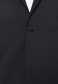 Calvin Klein Tailored - TONAL GRID CHECK EXTRAFINE SUIT - Suit - navy