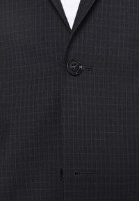 Calvin Klein Tailored - TONAL GRID CHECK EXTRAFINE SUIT - Oblek - navy - 6