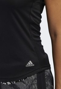 adidas Performance - RUN IT T-SHIRT - T-shirt basic - black - 5