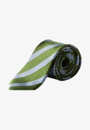 Tie - donkergroen
