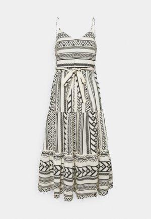 VMDICTHE SINGLET ANCLE DRESS VIP  - Maxi dress - birch/dicthe/black
