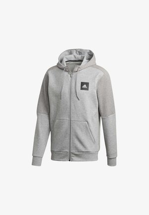 MUST HAVES FULL-ZIP STADIUM HOODIE - Sweatjacke - grey
