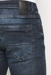 Cars Jeans - BECKER - Denim shorts - blue black - 5