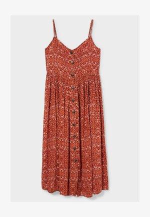 Sukienka letnia - dark red