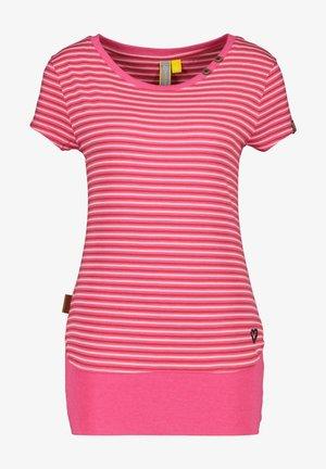 COCOAK - Print T-shirt - fuchsia