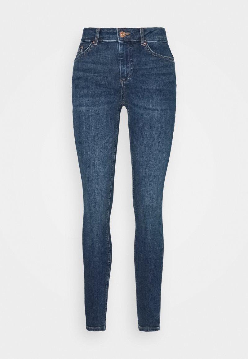 Pieces Petite - PCDELLY  - Skinny džíny - medium blue denim