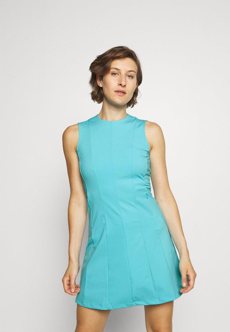 J.LINDEBERG - JASMIN GOLF DRESS - Sports dress - beach blue